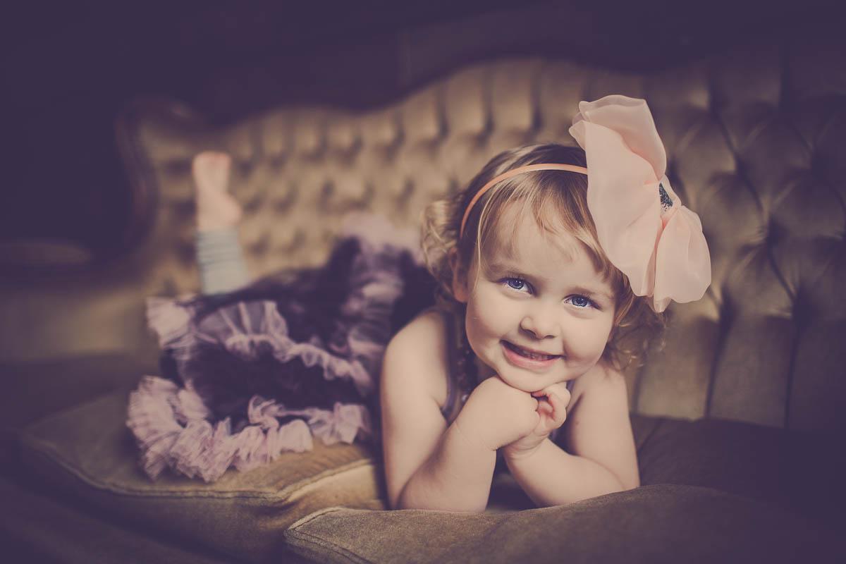 Ærlige og spontane børnefotos